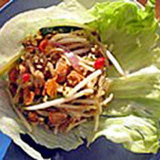 Thai Lettuce Wraps Recipe (Vegan Friendly Recipe!)