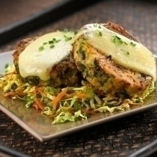Curly Kale And Potato Cakes
