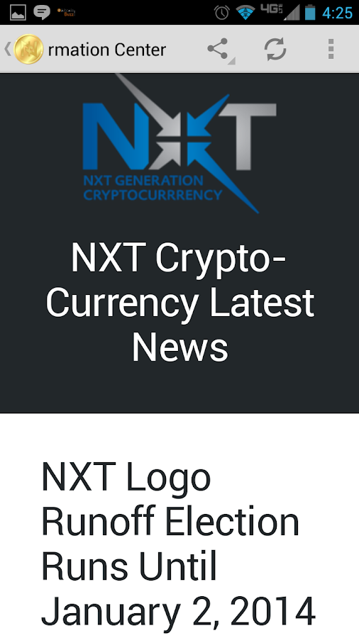 NXT ~ Next Generation News App - screenshot