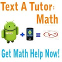 Text A Tutor: Math Tutoring icon