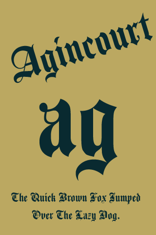 agincourt flipfont apk 1.0 download - free personalization apk download