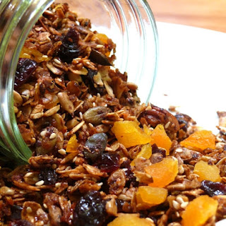 Dried Apricot and Cherry Granola