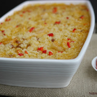 Cheesy Cajun Shrimp and Rice Casserole
