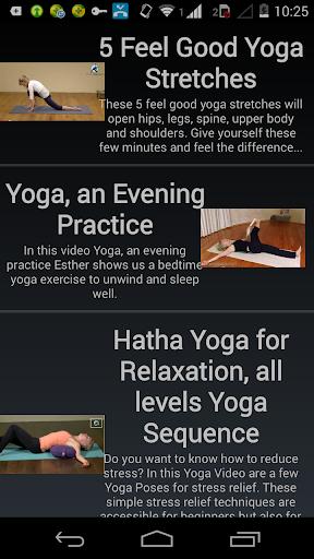 視頻瑜伽課程