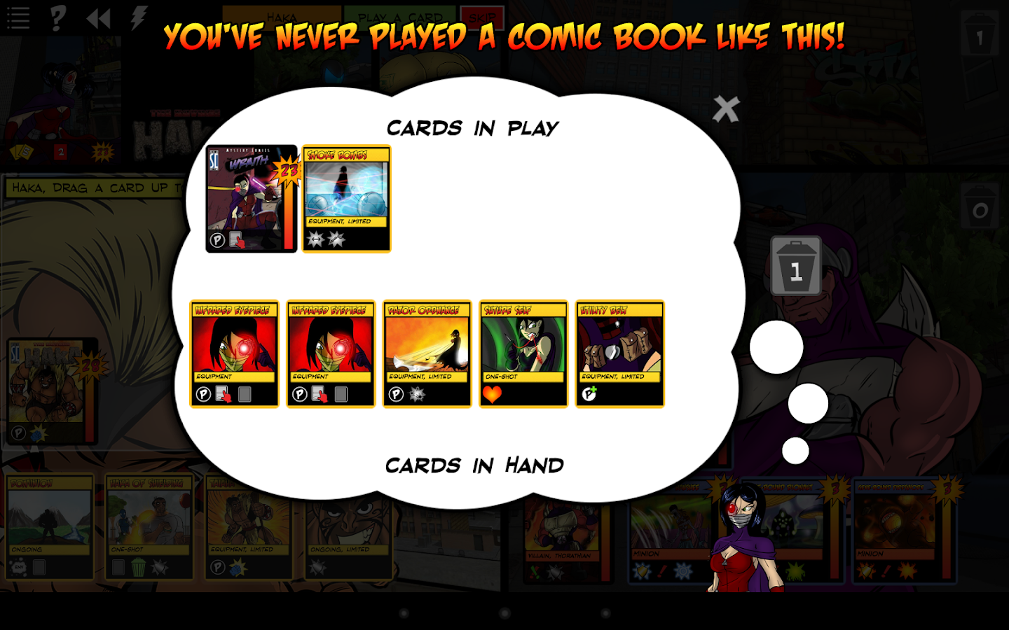 Sentinels of the Multiverse- screenshot