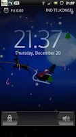 Screenshot of Santa Winter Christmas Eve LWP