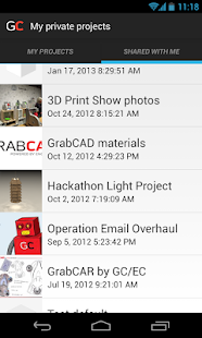 GrabCAD - screenshot thumbnail