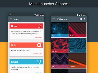 Minimal UI - Icon Pack - screenshot thumbnail