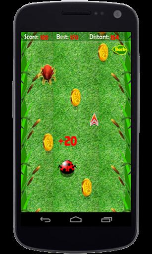 Beetle Bounce Game