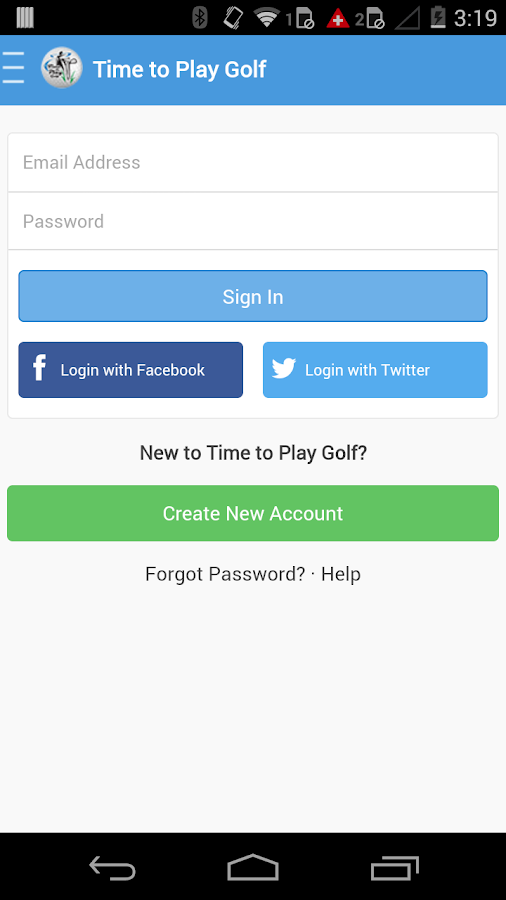 Time To Play Golf Mobile- screenshot