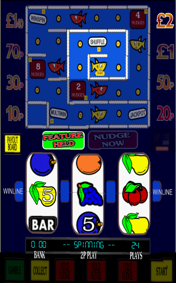 play free fruit machines with features