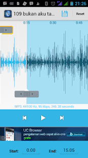 MP3 CUTTER PRO- screenshot thumbnail