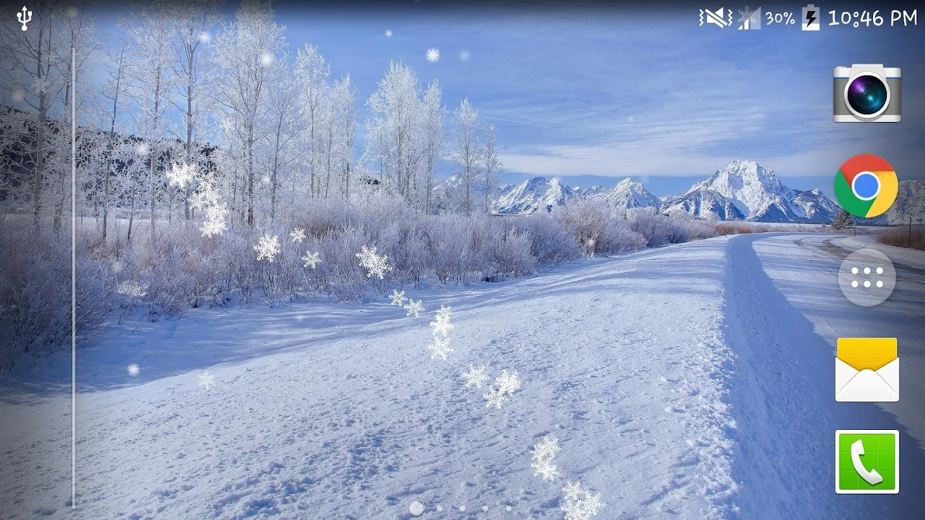 Winter Snow Live Wallpaper Hd Android Aplicaciones Appagg