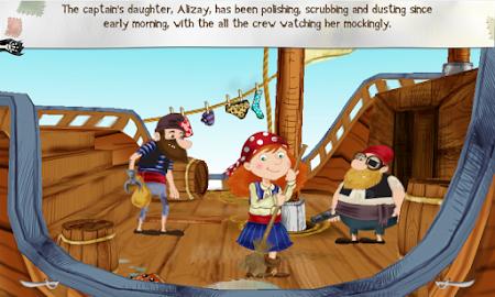 Alizay, pirate girl Screenshot 2