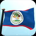 Belice Bandera 3D Gratis icon