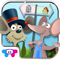 Town Mouse and Country Mouse icon