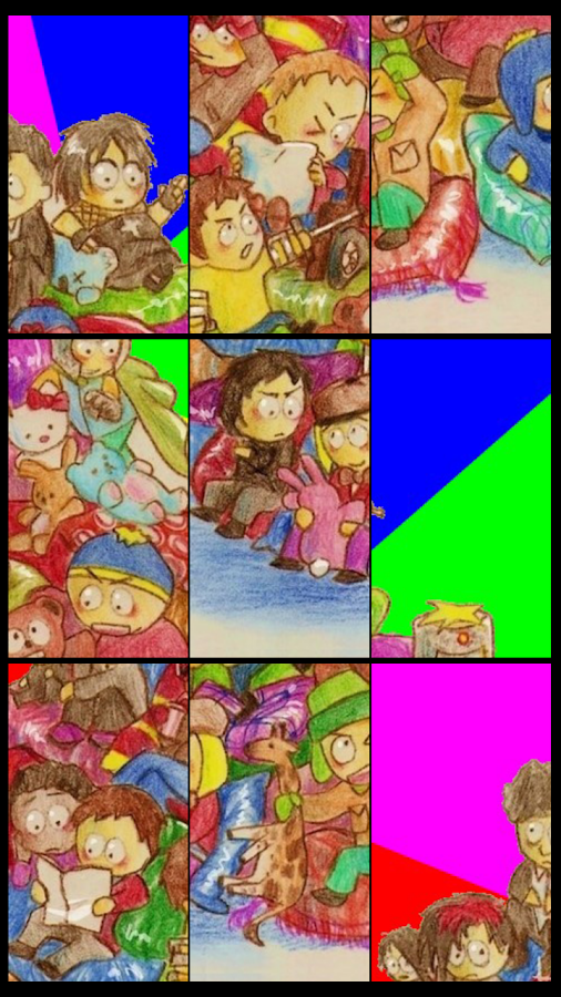 South Park Fan Puzzle - screenshot
