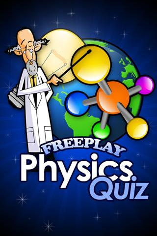 FreePlay Physics Quiz - screenshot