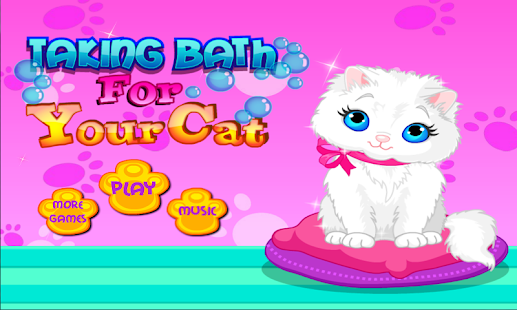 Pet Cat Animal Games