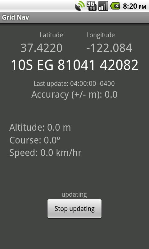 Grid Nav MGRS Utility- screenshot