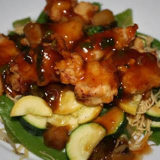 Hunan Chicken.