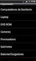 Screenshot of Computienda Internacional