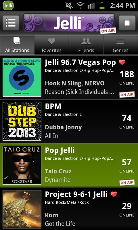 Jelli Radio - screenshot