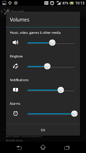 Ringer & Notification Unlink 1.60 screenshots 1
