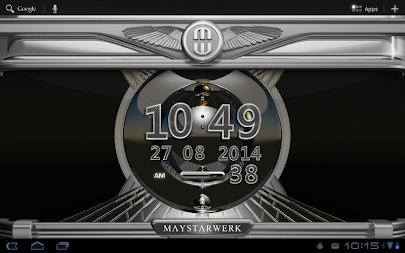 Digi Clock Widget Platinum APK screenshot thumbnail 6