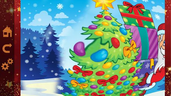 Kids Christmas Scratch Color