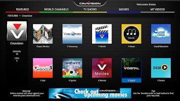 Screenshot of Cinavision TV