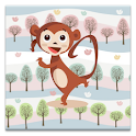 Dancing Monkey logo
