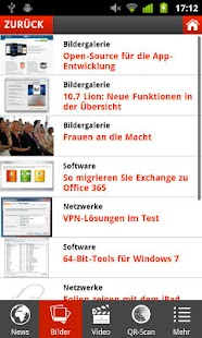 COMPUTERWOCHE News - screenshot thumbnail