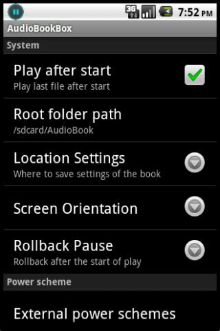 AudioBookBox - screenshot