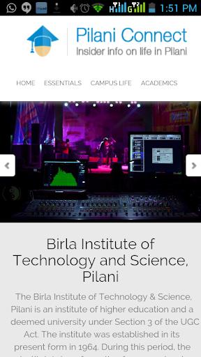 玩教育App|Pilani Connect免費|APP試玩