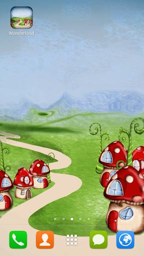 Wonderland Live Wallpaper