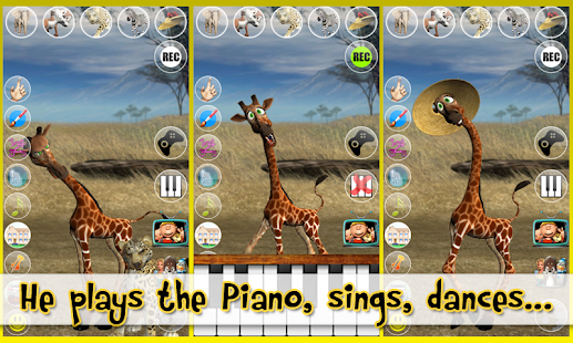 Talking George The Giraffe - screenshot thumbnail