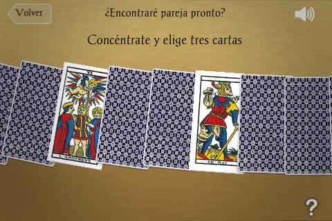 Tarot Euroresidentes - screenshot