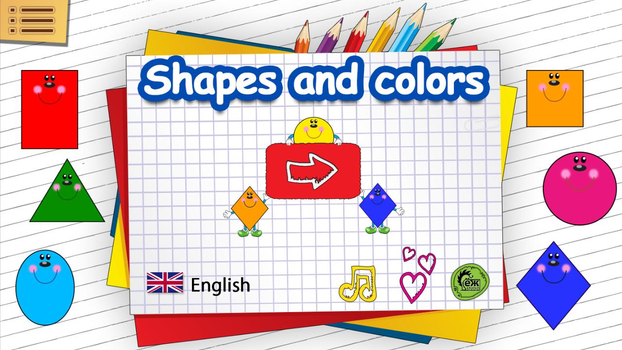 Shapes and Colors for kids- screenshot