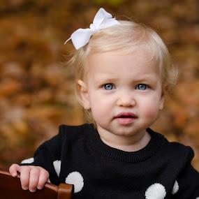 Ruby by Nancy Arehart - Babies & Children Child Portraits ( girls, autumn, children, portrait,  )
