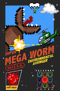 Super Mega Worm Screenshot 1