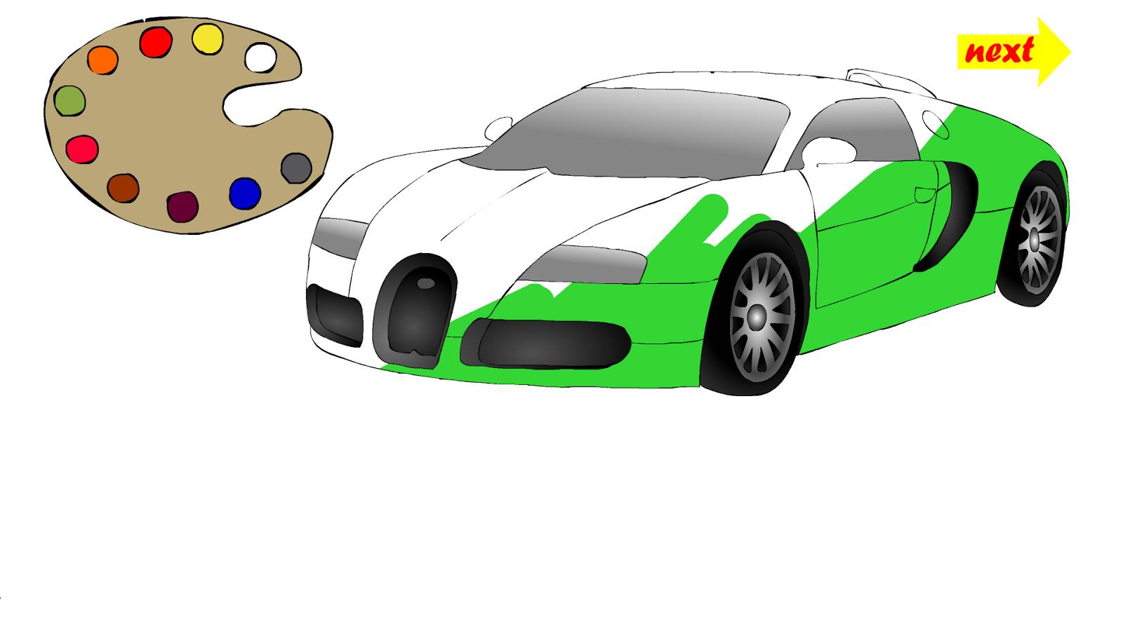 Design my car - Paint My Car Screenshot