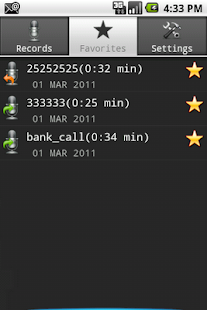 Call Recorder Full Free - screenshot thumbnail