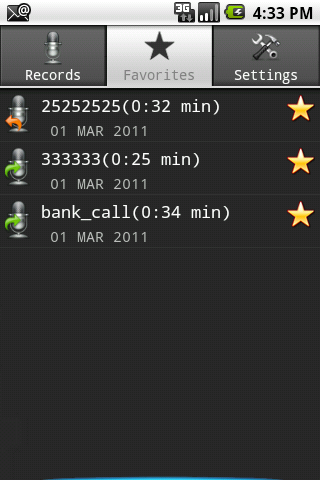 Call Recorder Full Free - screenshot