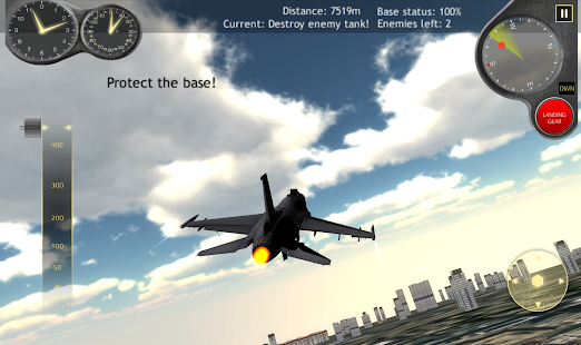 Fly Airplane Fighter Jets 3D- screenshot thumbnail