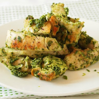 Pesto Grilled Chicken.