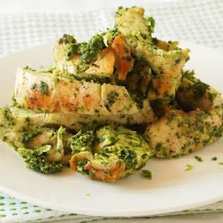 Pesto Grilled Chicken.
