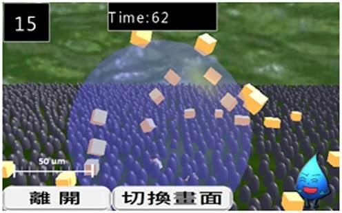 體感遊戲學奈米-蓮葉效應