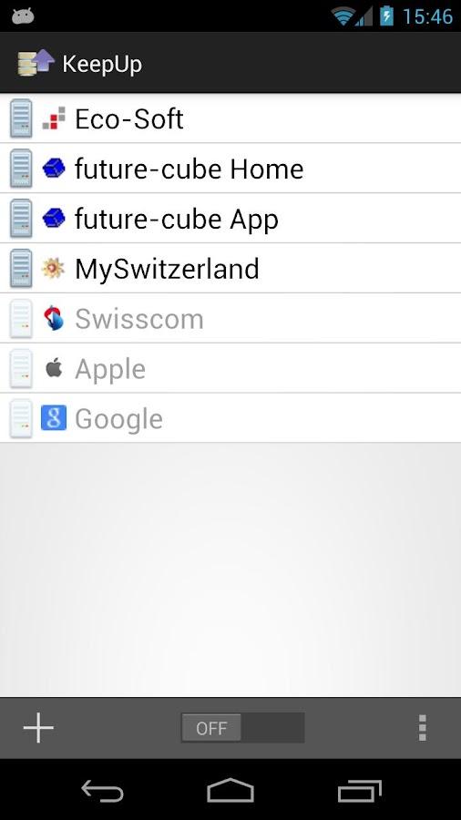 KeepUp- screenshot