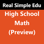 High School Math (Preview) icon